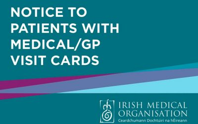 Notice to patients with Medical/GP Visit Cards